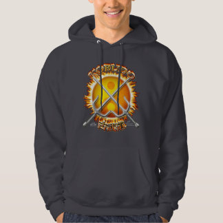 Kobudo Front Dark Hooded Sweatshirt
