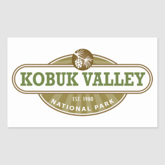 Kobuk Valley National Park Rectangular Sticker