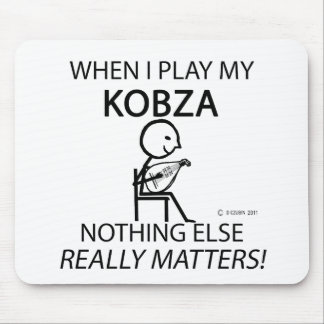 Kobza Nothing Else Matters Mouse Pad