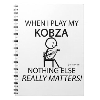 Kobza Nothing Else Matters Notebooks