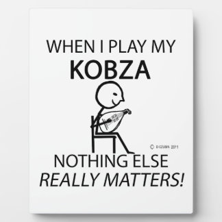 Kobza Nothing Else Matters Photo Plaques