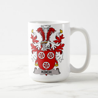 Koch Family Crest Coffee Mug