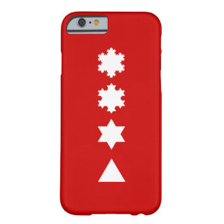 Koch Snowflakes Barely There iPhone 6 Case