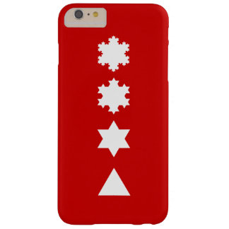 Koch Snowflakes Barely There iPhone 6 Plus Case