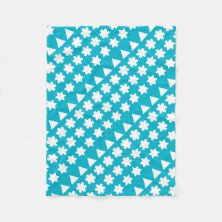 Koch Snowflakes Fleece Blanket