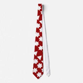 Koch Snowflakes Tie