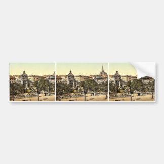 Kochbrunnen, Wiesbaden, Hesse-Nassau, Germany magn Bumper Sticker