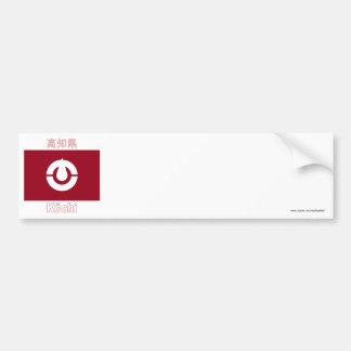Kochi Prefecture Flag Bumper Sticker
