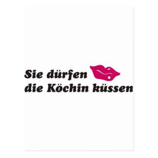 Köchin Postales