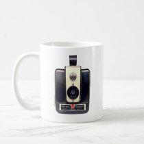 vintage, camera, retro, kodak, brownie, hawkeye, cool, analog, film, mug, hipster, dream, custom, vintage camera, lens, antique, old fashioned, old camera, classic mug, Caneca com design gráfico personalizado
