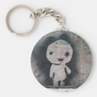 Kodama Basic Round Button Keychain