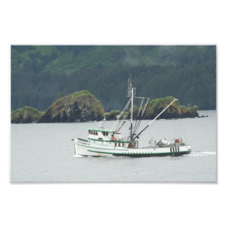 Kodiak, AK Fishing Boat Art Photo