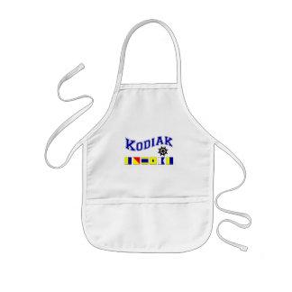 Kodiak, Alaska Kids' Apron
