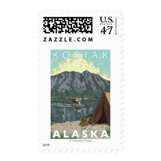 Kodiak, AlaskaBush Plane Fishing Postage