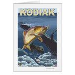 Kodiak, AlaskaCutthroat Trout Cross-Section Card