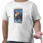 Kodiak, AlaskaCutthroat Trout Cross-Section Tee Shirt