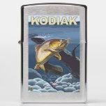 Kodiak, AlaskaCutthroat Trout Cross-Section Zippo Lighter