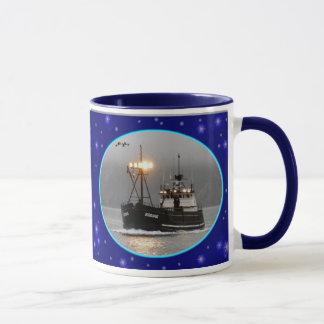 Kodiak, barco del cangrejo en el puerto holandés,