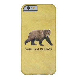 Kodiak Bear Barely There iPhone 6 Case
