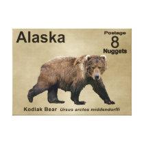 Kodiak Bear Canvas Print