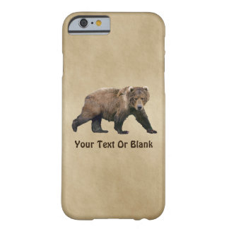 Kodiak Bear Barely There iPhone 6 Case