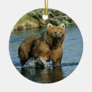Kodiak Bear Christmas Ornaments