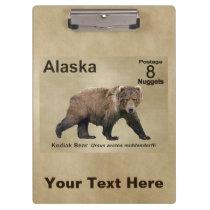 Kodiak Bear Clipboard