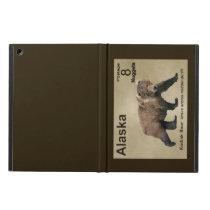 Kodiak Bear iPad Air Cover