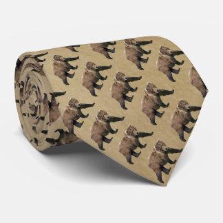 Kodiak Bear Neck Tie