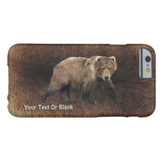 Kodiak Bear On Caribou Fur Barely There iPhone 6 Case