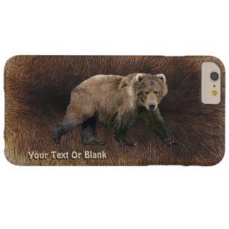 Kodiak Bear On Caribou Fur Barely There iPhone 6 Plus Case