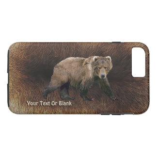 Kodiak Bear On Caribou Fur iPhone 8 Plus/7 Plus Case