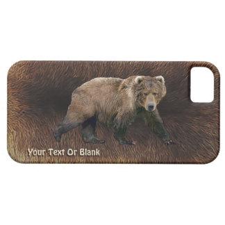Kodiak Bear On Caribou Fur iPhone SE/5/5s Case