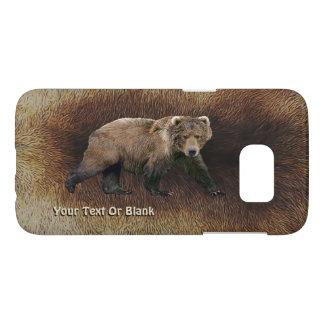 Kodiak Bear On Caribou Fur Samsung Galaxy S7 Case