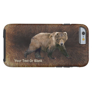 Kodiak Bear On Caribou Fur Tough iPhone 6 Case