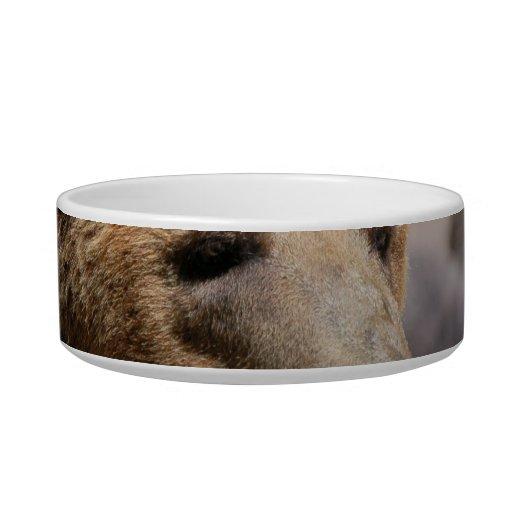 Kodiak Bear Pet Bowl Cat Water Bowl
