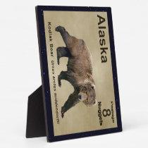 Kodiak Bear Plaque