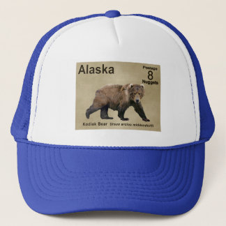 Kodiak Bear Trucker Hat