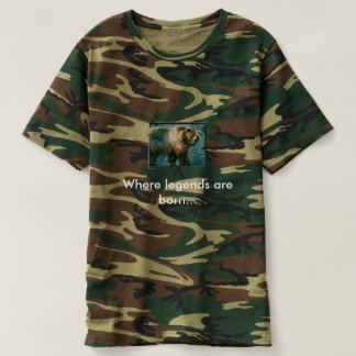 Kodiak bear.. Where legends are born... T-shirt