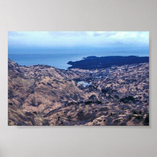 Kodiak Coastline Poster