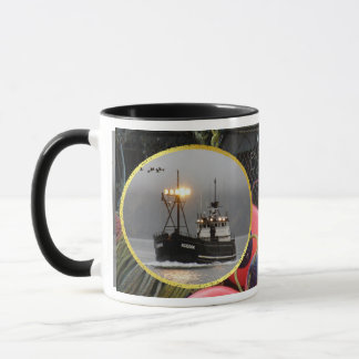 Kodiak, Crab Boat in Dutch Harbor, Alaska Mug