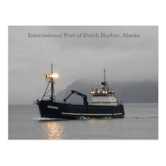 Kodiak Crab Fishing Vessel Postcard
