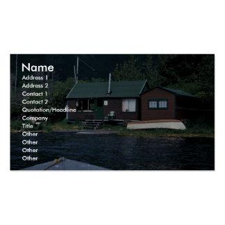 Kodiak National Wildlife Refuge Headquarters at Ka Business Card Template