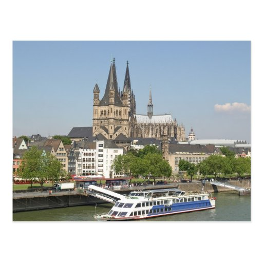 Koeln (Cologne) in Germany Postcard