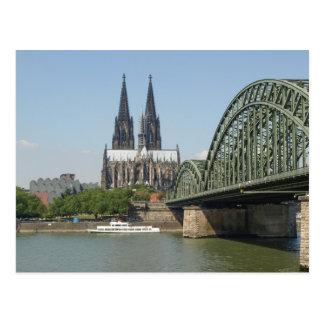 Koeln Colonia en Alemania Postal