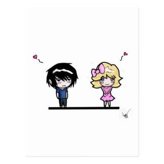 Koen and Bailey Postcard