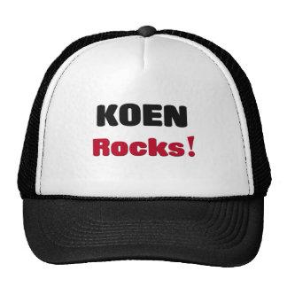 Koen Rocks Trucker Hat