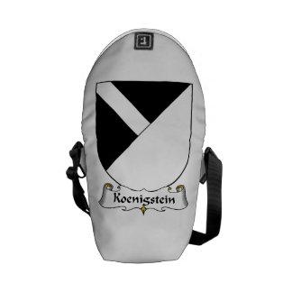 Koenigstein Family Crest Messenger Bag