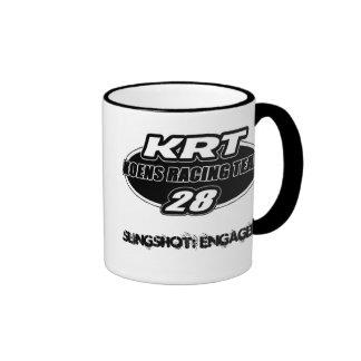 Koens Racing Team #28 Ringer Coffee Mug