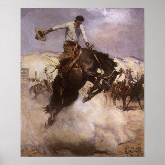 Koerner's Breezy Riding print